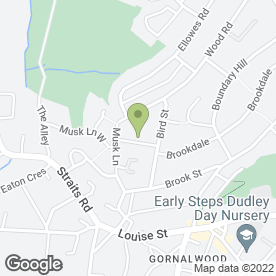 Map of D.B Millward Plumbing & Maintenance Services in Dudley, west midlands
