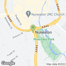 Map of Thai Tham in Nuneaton, warwickshire