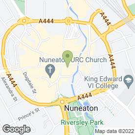 Map of H.Samuel in Nuneaton, warwickshire