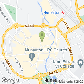 Map of Hear4u in Nuneaton, warwickshire