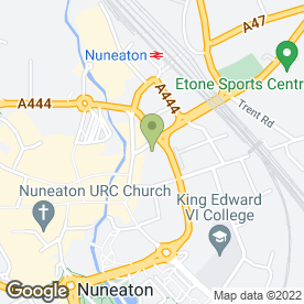 Map of Kwik-Fit in Nuneaton, warwickshire
