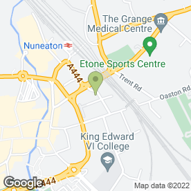 Map of Kew Beauty in Nuneaton, warwickshire
