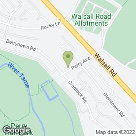 Map of Eco Mobile Valeting Services in Perry Barr, Birmingham, west midlands
