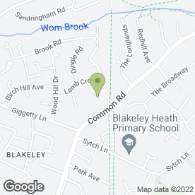 Map of Mobile Spa Therapist in Wombourne, Wolverhampton, west midlands