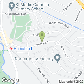 Map of Smart Tutoring in Great Barr, Birmingham, west midlands