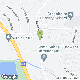 Map of ADVANCE AUTO ACCIDENT REPAIR in Great Barr, Birmingham, west midlands