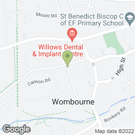 Map of A Cheaper Removal in Wombourne, Wolverhampton, west midlands