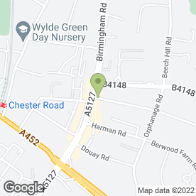 Map of STUMP MAN in Sutton Coldfield, west midlands