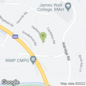 Map of Beauty Therapist in Birmingham, west midlands