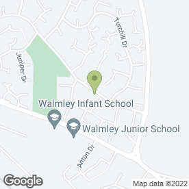 Map of A J Foley Carpentry Services in Sutton Coldfield, west midlands