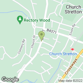 Map of Bucks Head Inn in Church Stretton, shropshire