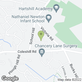 Map of Northall Services in Nuneaton, warwickshire