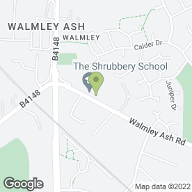 Map of SHRUBBERY SCHOOL in Sutton Coldfield, west midlands