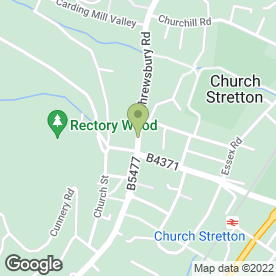 Map of The Old Coppers Malt House in Church Stretton, shropshire