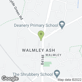 Map of J & B CARPETS OF WALMLEY in Sutton Coldfield, west midlands
