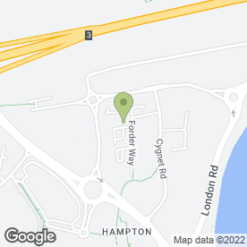 Map of Airphone Installations Ltd in Hampton, Peterborough, cambridgeshire