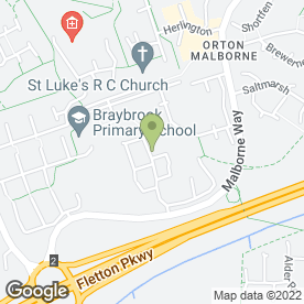 Map of Glenn Wilson in Orton Malborne, Peterborough, cambridgeshire