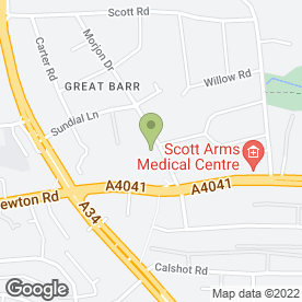 Map of BEACON AUTO SPARES in Great Barr, Birmingham, west midlands