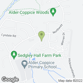 Map of Hamp Flooring (1998) Ltd in Sedgley, Dudley, west midlands
