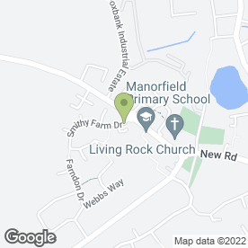 Map of DK Flooring in Stoney Stanton, Leicester, leicestershire