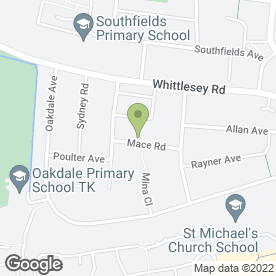 Map of MACE DENTAL SURGERY in Stanground, Peterborough, cambridgeshire