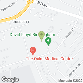 Map of TYREX AUTO SERVICES in Birmingham, west midlands