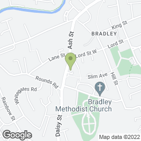 Map of Autogas Solutions in Bradley, Bilston, west midlands