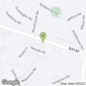 Map of Carolines Hair, Nails & Beauty Salon in Great Barr, Birmingham, west midlands