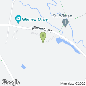 Map of Berty Bowes in Wistow, Leicester, leicestershire