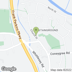 Map of Q Cars of Stanground in Stanground, Peterborough, cambridgeshire