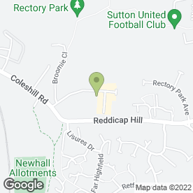 Map of GREENWOOD COUNTRY FURNITURE in Sutton Coldfield, west midlands