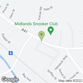 Map of Clio Centre in Bilston, west midlands