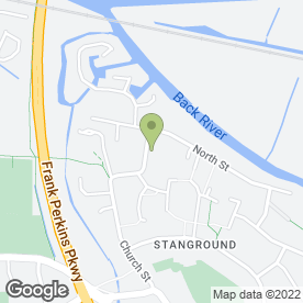Map of Orchid Bathrooms Ltd in Stanground, Peterborough, cambridgeshire