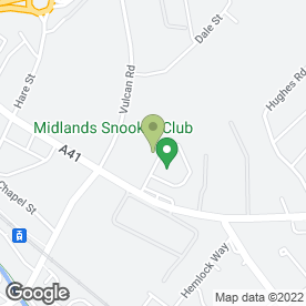 Map of STREET JITSU ASSOCIATION in Bilston, west midlands