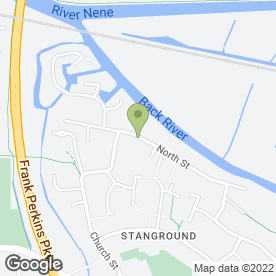 Map of Wilson's Weddings in Stanground, Peterborough, cambridgeshire