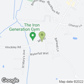 Map of TTG Inns Ltd in Barwell, Leicester, leicestershire