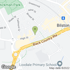 Map of Bilston Lawnmower Services in Bilston, west midlands
