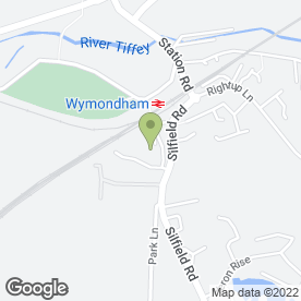 Map of APR Telecoms (Maintenance) Ltd in Wymondham, norfolk