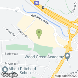 Map of Pizza Hut (UK) Ltd in Wednesbury, west midlands