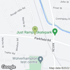 Map of Wright Brothers Skip Hire in Wolverhampton, west midlands