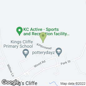 Map of Aw Security in Kings Cliffe, Peterborough, cambridgeshire