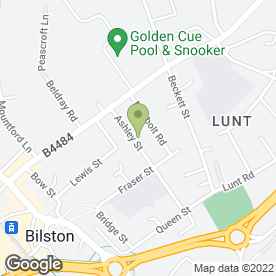 Map of Signature Home & Garden in Bilston, West Midlands, west midlands
