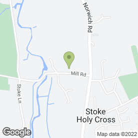 Map of Stoke Mill in Norwich, norfolk