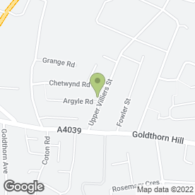 Map of Maya Travel Co.Ltd in Wolverhampton, west midlands