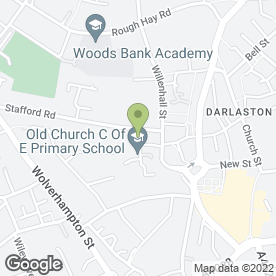 Map of Plumbing Points Darlaston Ltd in Wednesbury, west midlands