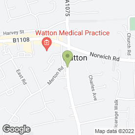 Map of Total Health Therapy Ltd in Watton, Thetford, norfolk