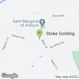 Map of Award Flooring UK in Stoke Golding, Nuneaton, warwickshire