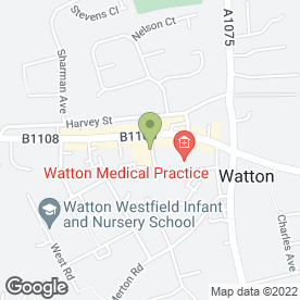Map of The Co-operative Food in Watton, Thetford, norfolk