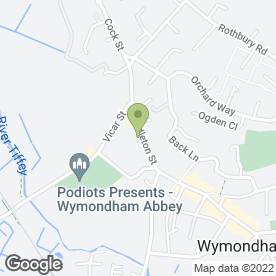 Map of Fosters Solicitors in Wymondham, norfolk