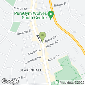 Map of Naz Hair Stylist in Wolverhampton, west midlands